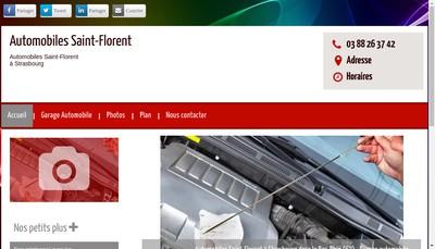 Site internet de Garage Saint Florent