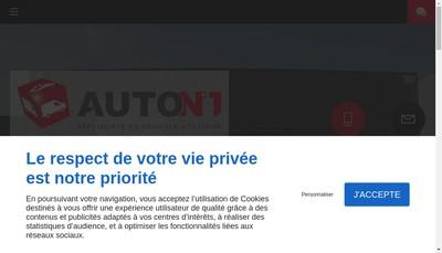 Site internet de Auto N1