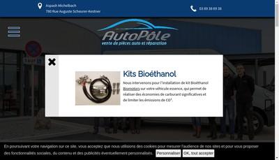 Site internet de Blondel Electro Diesel