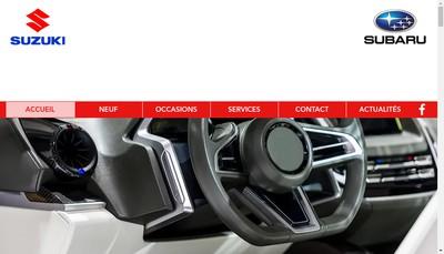 Site internet de SARL France Auto Rougier