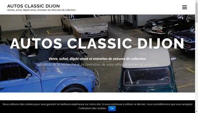 Site internet de Autos Classic Dijon