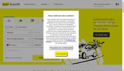 Site internet de Autoscout 24-Truckscout-Topjobs