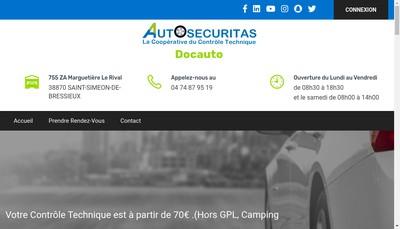 Site internet de Docauto