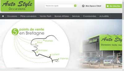 Site internet de Auto Style 56