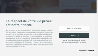 Site internet de Villefranche Auto-Antar