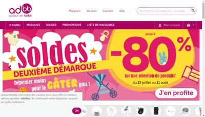Site internet de Babybest