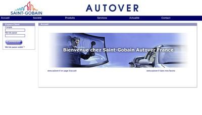 Site internet de Saint Gobain Autover France