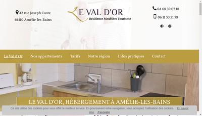Site internet de Hotel Combes
