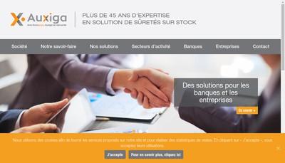 Site internet de Auxiga Group International