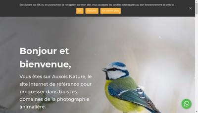 Site internet de Auxois Nature