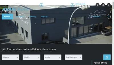 Site internet de Avag Auto