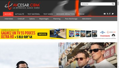 Site internet de Very Important Press - Vip