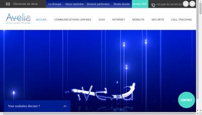 Site internet de Avelia