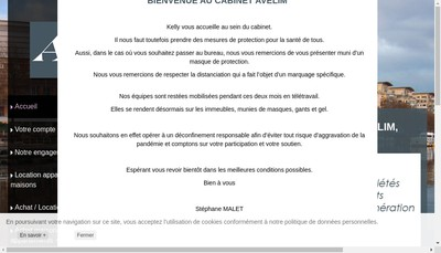 Site internet de Avelim