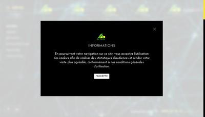 Site internet de Avenel Couverture
