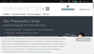 Site internet de Aventics Holding SAS