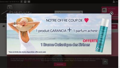 Site internet de Parfumerie Institut Passion Beaute