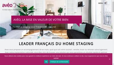 Site internet de Aveo