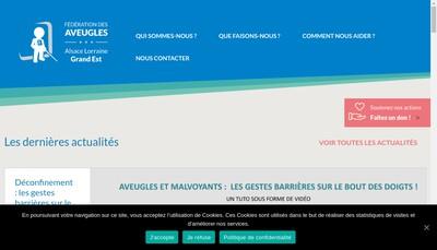 Site internet de Atelier Protege des Aveugles
