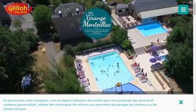 Site internet de La Grange de Monteillac