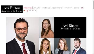 Site internet de Avi Bitton