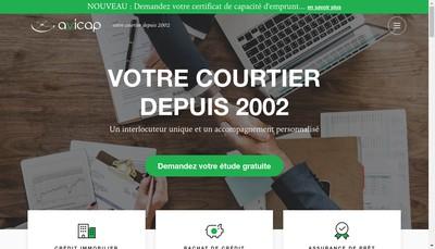 Site internet de Avicap