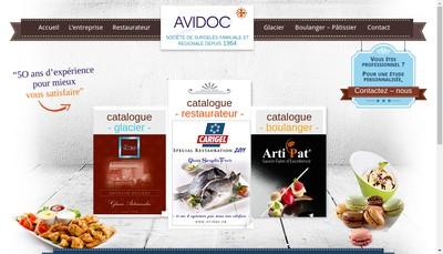 Site internet de Avidoc