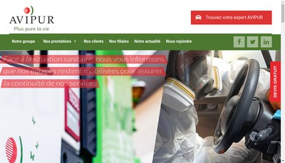 Site internet de Avipur
