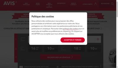 Site internet de Avis