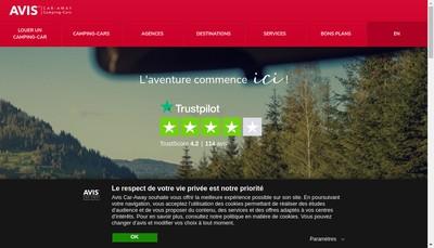 Site internet de Car Away