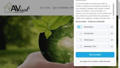 Site internet de Avisol
