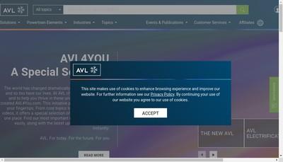 Site internet de Avl Lmm SAS