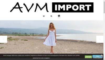 Site internet de Avm Import