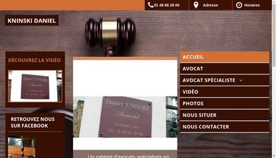 Site internet de SCP J Wuilque D Kninski M Bosque
