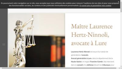 Site internet de Laurence Hertz
