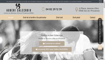 Site internet de Auberi Salecroix