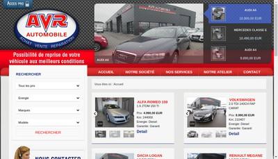 Site internet de Avr Automobile