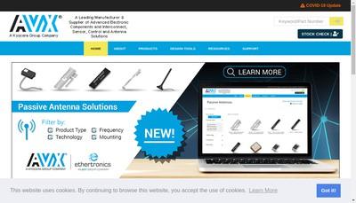 Site internet de Ethertronics France SAS