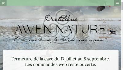 Site internet de Awen Nature