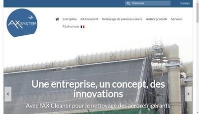 Site internet de AX Services