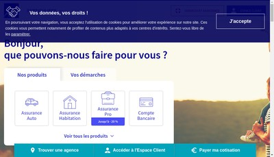Site internet de Axa