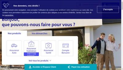 Site internet de Axa Banque
