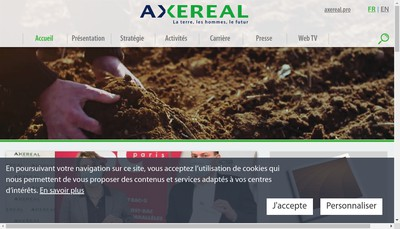 Site internet de Granit Negoce