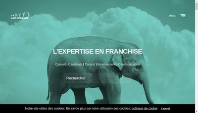 Site internet de Axe Reseaux