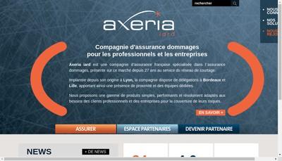 Site internet de Axeria