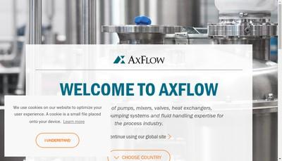 Site internet de Axflow SA