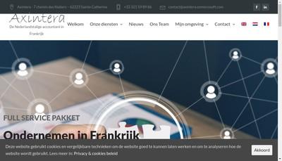 Site internet de Axintera