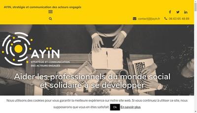 Site internet de Amelie Guilbert