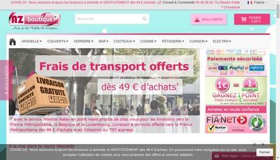 Site internet de Az Boutique