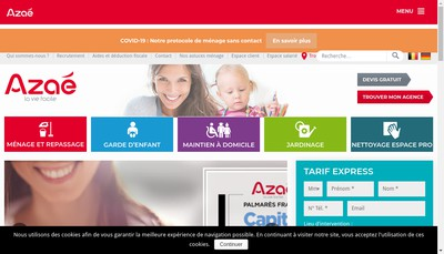 Site internet de A2Micile Saverne